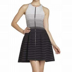🔥BCBMaxAzria Guilianna dress in black/white🔥